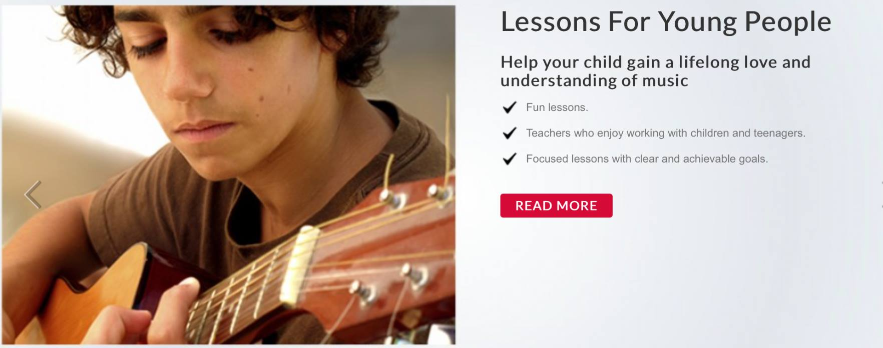 Guitar lessons in Brighton and Hove