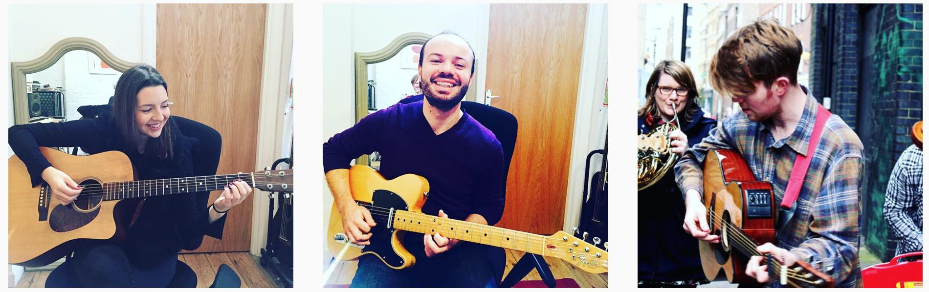 Guitar Lessons Brighton