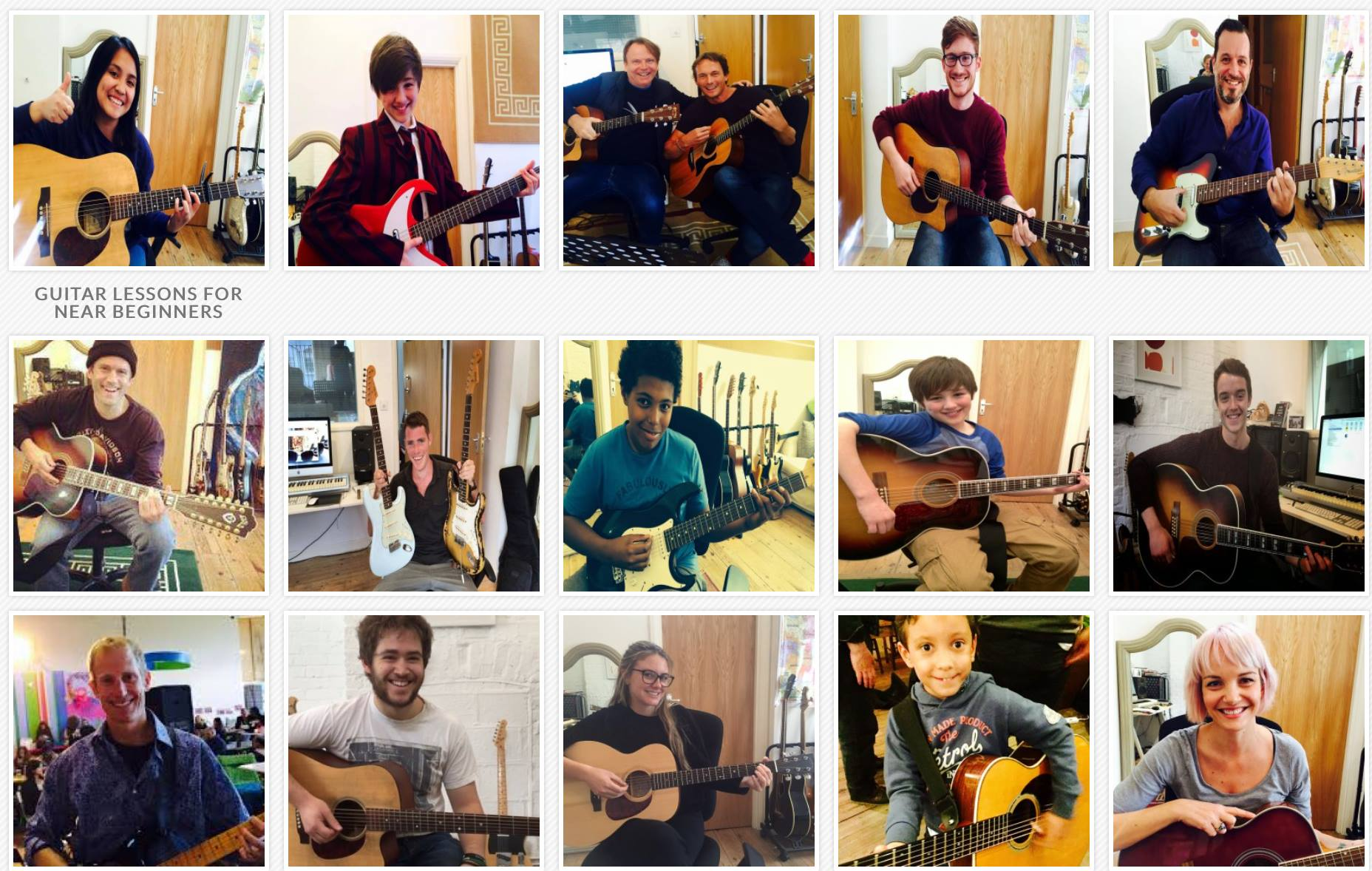 Children's guitar lessons Brighton Acoustic guitar lessons Learn to play guitar in Brighton